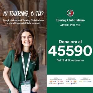 """""""Prenditi cura dell'Italia con noi"""": dona ora al numero 45590 e sostieni il progetto Aperti per Voi!"""