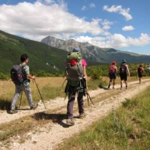 In cammino tra Marche, Umbria, Lazio e Abruzzo, per sostenere le terre terremotate