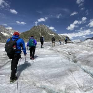 Come scoprire l'Aletsch, il ghiacciaio più grande delle Alpi