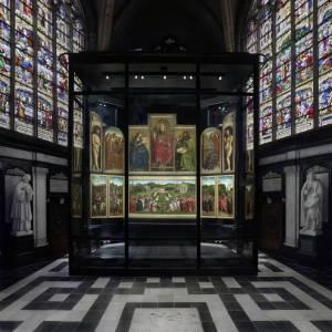 Una nuova casa per l'Agnello Mistico di Gent: inaugurato in Belgio il progetto per valorizzare il capolavoro dei Van Eyck