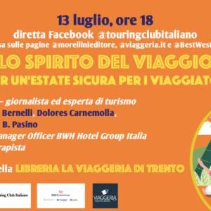 Touring e Morellini lanciano una diretta Facebook per parlare di viaggi con gli autori delle guide