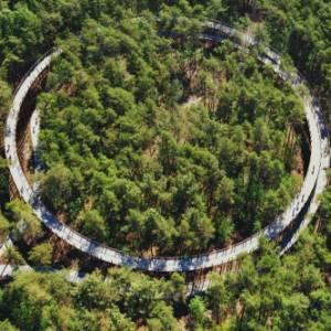 Due straordinarie piste ciclabili in Belgio