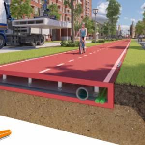 Rivoluzione sostenibile, in Olanda la prima pista ciclabile al mondo in plastica riciclata
