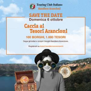 Il 6 ottobre la grande Caccia ai tesori arancioni in 100 borghi in tutta Italia