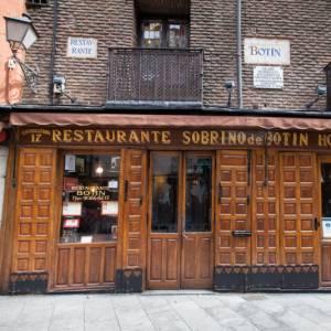 A Madrid c'è un ristorante aperto dal 1642