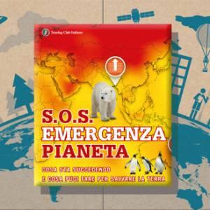 """Il cambiamento climatico spiegato ai ragazzi: esce """"S.O.S. Emergenza pianeta"""", il nuovo libro illustrato di Touring Club Italiano"""