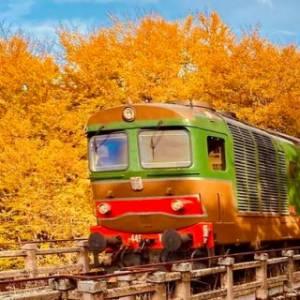 L'autunno ai piedi della Majella. A Palena, borgo Bandiera arancione