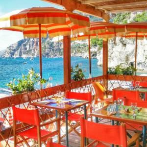 Bagni D'Arienzo, Positano, mangiare, Ristorante