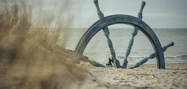 In Belgio l'arte è in spiaggia