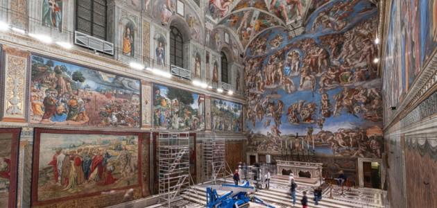 Gli arazzi di Raffaello tornano nella Cappella Sistina. Ma solo per una settimana