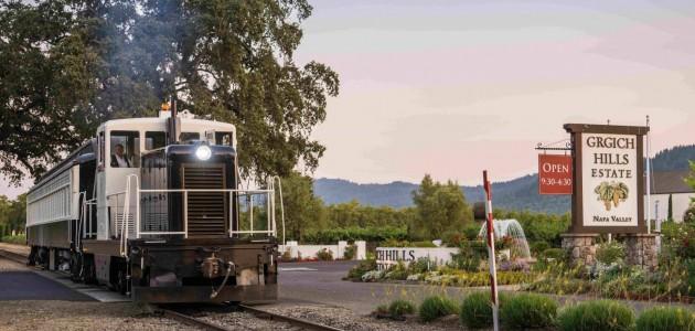 California: in treno nella Napa Valley, alla ricerca del vino più buono