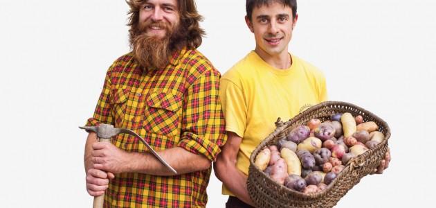 A Gressoney-Saint-Jean, in Valle d'Aosta, la rivincita delle patate rare e del cibo di qualità