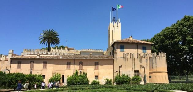 I Volontari Touring accolgono i visitatori nella Tenuta Presidenziale di Castelporziano