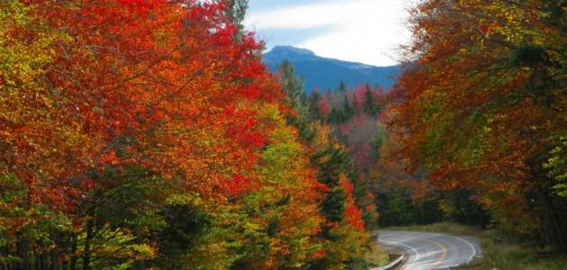 Il foliage sulle strade del New England
