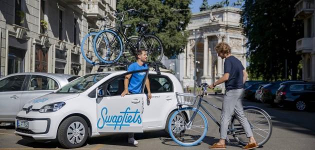 Sbarca in Italia Swapfiets, il netflix delle bici