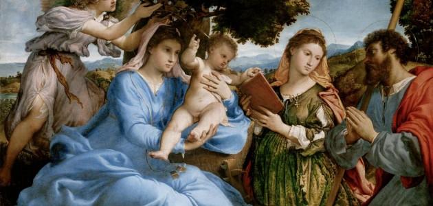 Alle Gallerie dell'Accademia a Venezia un capolavoro di Lorenzo Lotto
