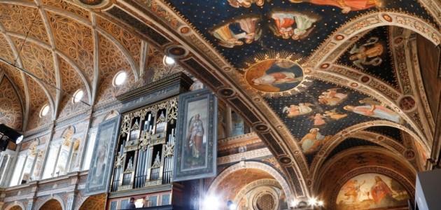 """Riapre le porte la chiesa di San Maurizio al Monastero Maggiore. I Volontari Touring tornano ad accogliere nella """"Cappella Sistina di Milano"""""""