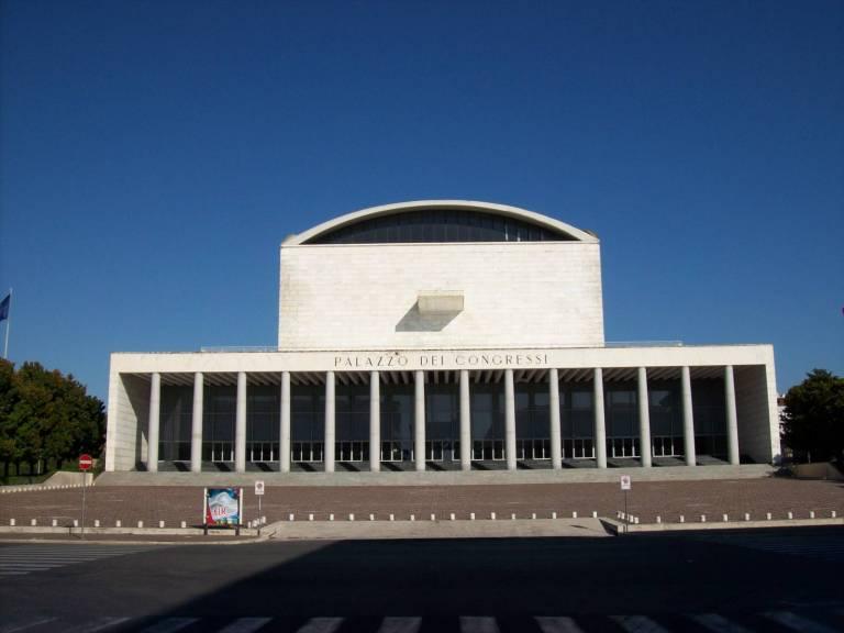 Roma l 39 architettura razionalista a roma - Architetto palazzo congressi roma ...