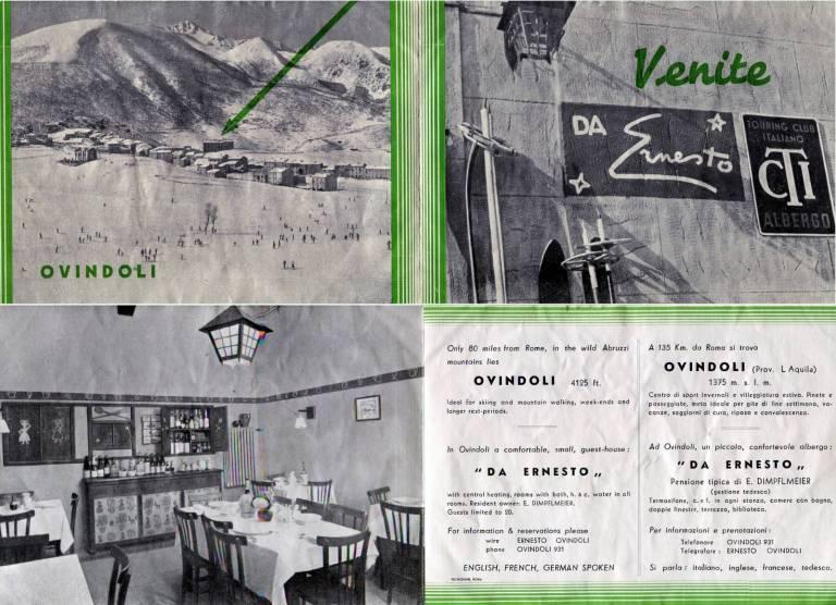 Abruzzo La Singolare Storia Della Pensione Ernesto Dalla Gestione Tedesca Ad Ovindoli