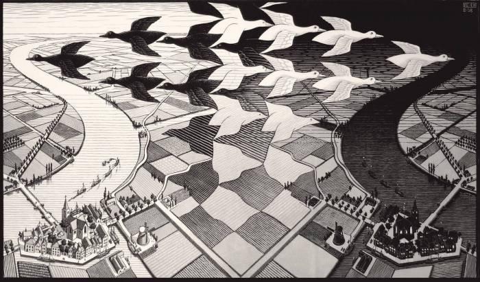 Escher 07_giorno_notte