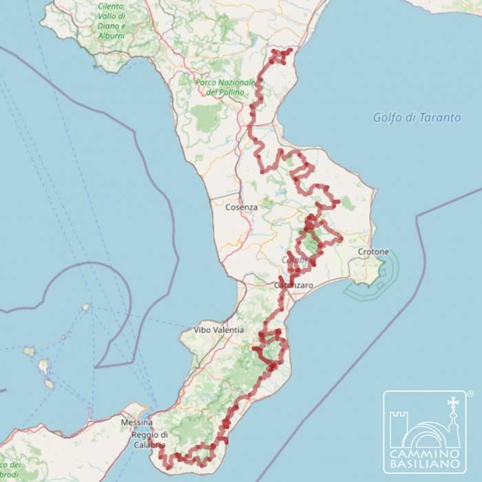 Cilento Cartina Geografica.Il Cammino Basiliano In Calabria Tra Suggestioni D Oriente E Atmosfere Nordiche 4 Di 8 Touring Club