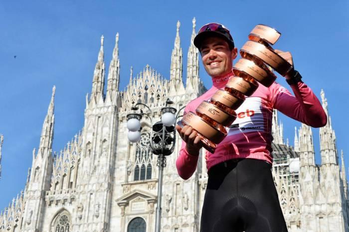 Giro d'Italia 2017: Tom Doumulin è il vincitore, Nibali terzo