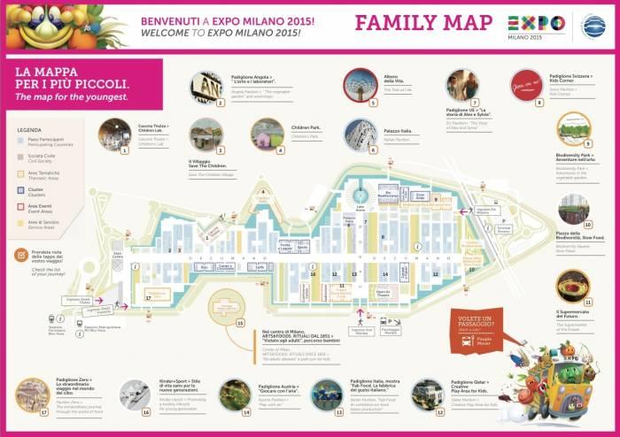 Cartina Di Milano Per Bambini.Che Cosa Fare A Expo Con I Bambini 6 Di 8 Touring Club