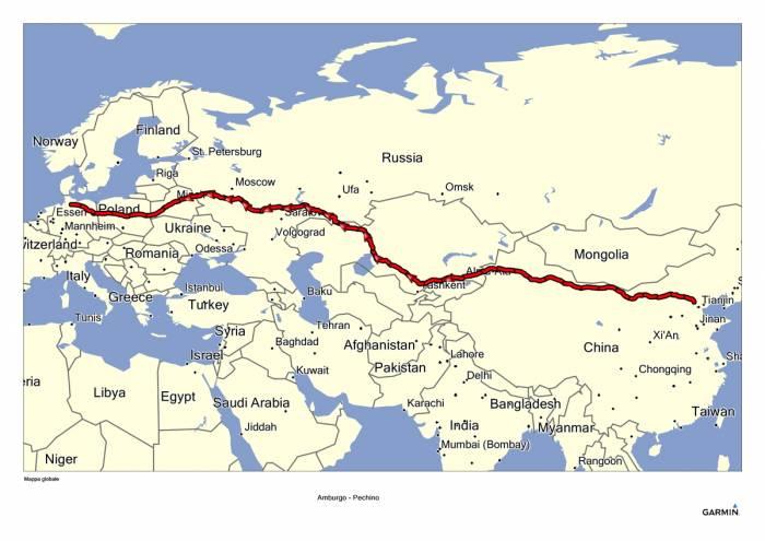 Cartina Climatica Cina.In Autostrada Da Amburgo A Pechino Si Parte Nel 2024 3 Di 11 Touring Club