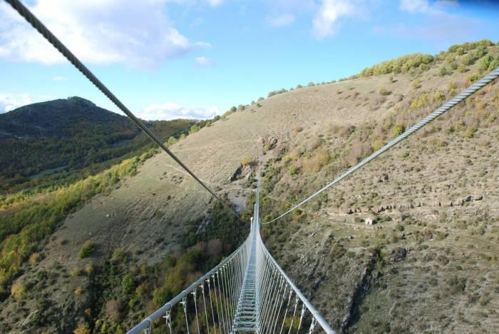 In basilicata il ponte tibetano pi spettacolare d italia for Disegni di ponte a 2 livelli