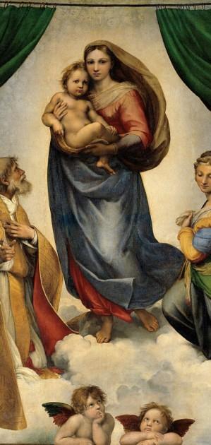 La Madonna Sistina di Raffaello, icona senza tempo, rivive a Piacenza in una mostra dedicata al suo mito
