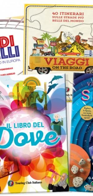 Cinque novità Touring in libreria per non perdere il piacere della scoperta