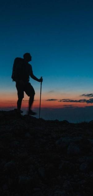 Va Sentiero, capitolo 21. L'arrivo in Abruzzo e lo spettacolo del Gran Sasso