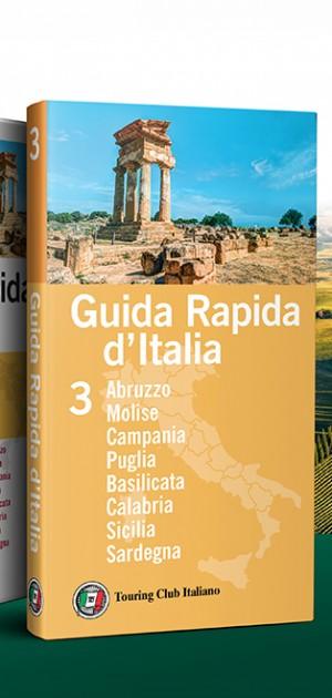 La nuova Guida Rapida d'Italia Touring: tre volumi per viaggiare senza perdersi il meglio